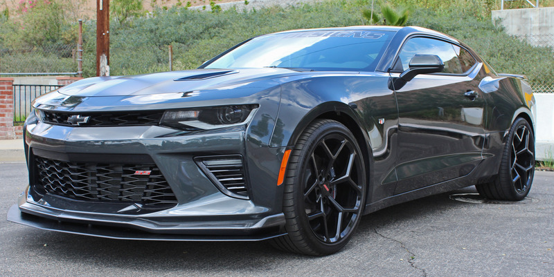 magg performance 2016 18 camaro ss rs front splitter for cars with front lip. Black Bedroom Furniture Sets. Home Design Ideas