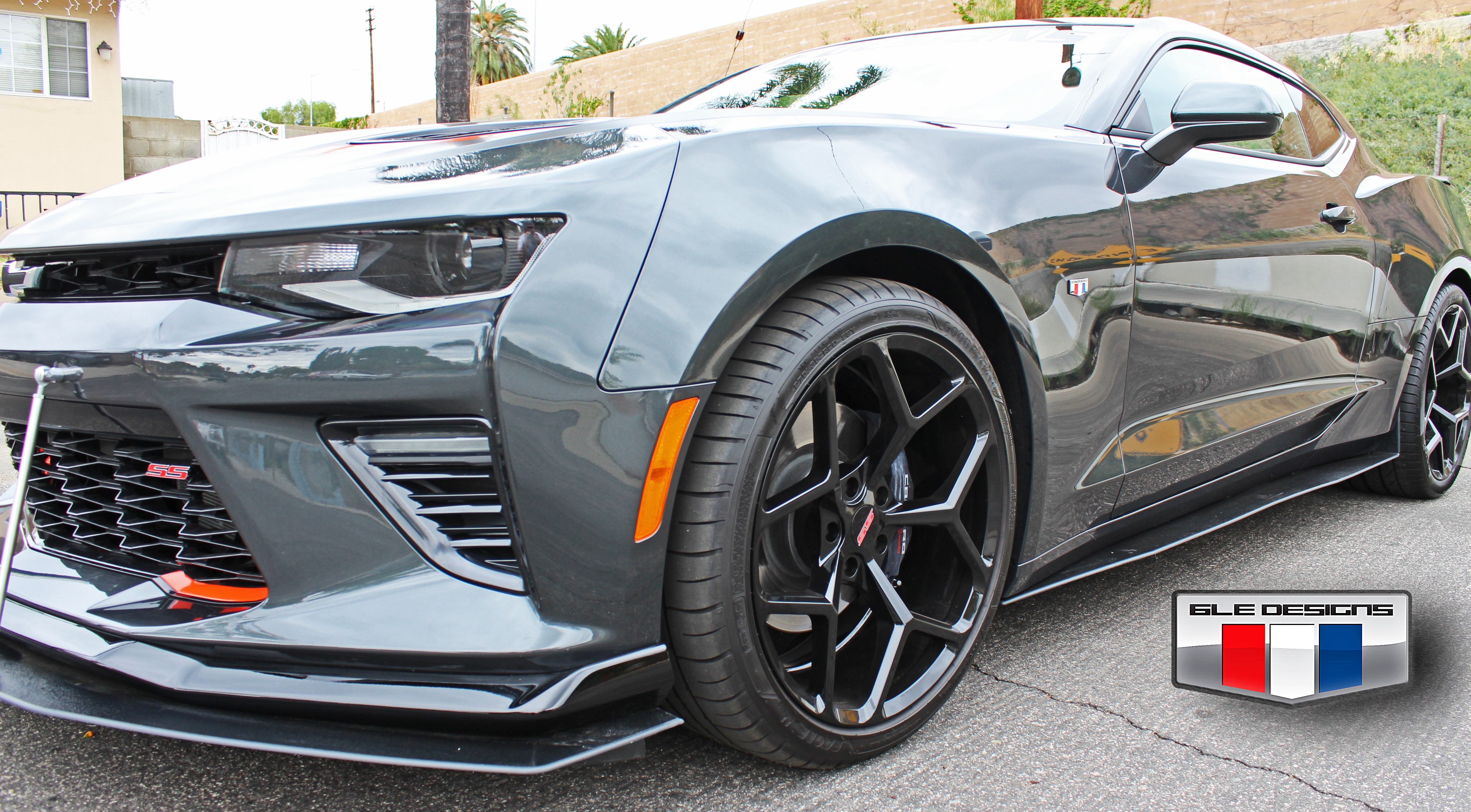 2016 Camaro Ss And Rs Side Splitters